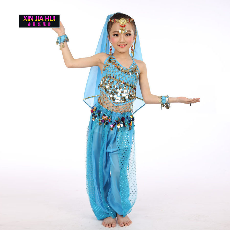 5d7c9d171 Quality Indian Sari Dress Orientale Enfant Indian Costumes For Kids ...