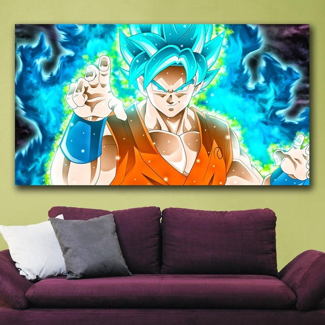 Dragon Ball Super Goku HD Canvas Wall Art