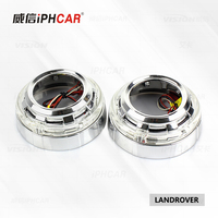 IPHCAR Car Styling LED Angel Eyes Headlight Bi Xenon Hid Projector Lens Shroud Light For Q5Hella