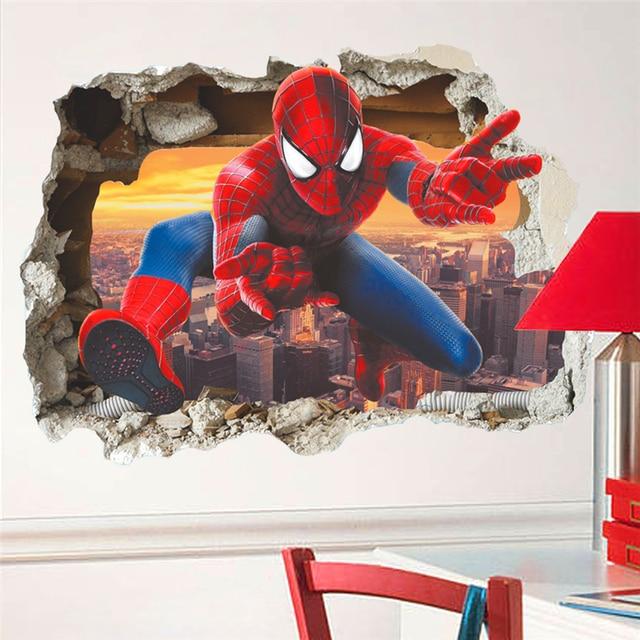 Spiderman Breaks Through 4