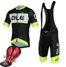 2016 дышащая ALE Велоспорт Джерси лето MTB Велосипедный Спорт Короткие Костюмы Ропа Майо Sportwear велосипед одежда