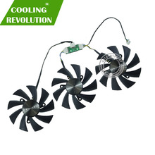 GA92S2U DC12V 0.46A for ZOTAC GTX1080Ti AMP EXTREME GTX 1080 Ti Core Edition Graphics card Heat sink cooling fan