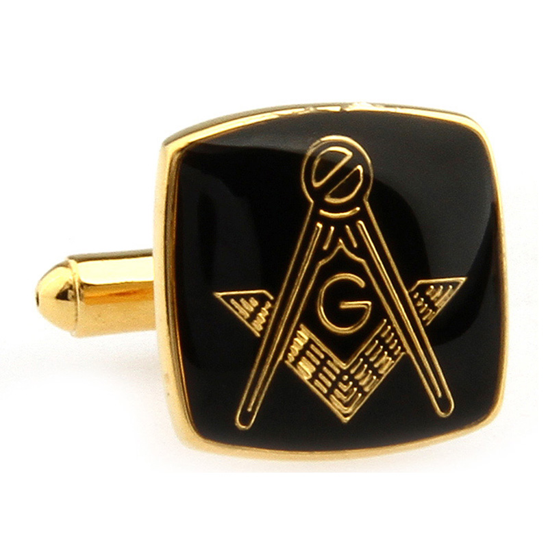 Мужские ювелирные изделия масонские запонки высококачественной нержавеющей стали Лодж Запонки для масонства французская рубашка костюм а...