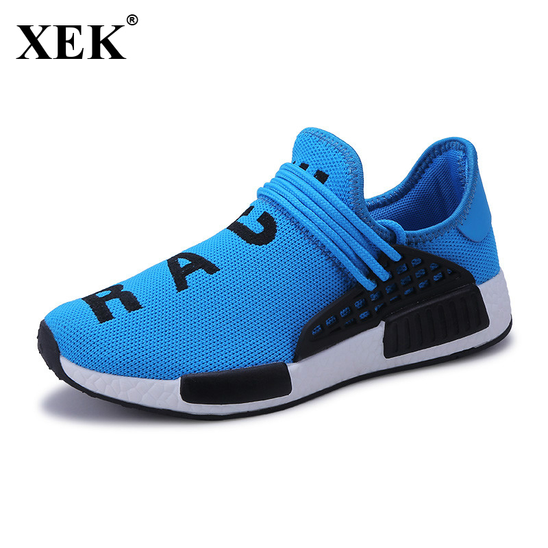 XEK 2018 New Running Sneakers For Men Brand Cheap Men Gym Shoes Air Mesh Light Breathable Mens Trainers Mens Sports Shoes JH42