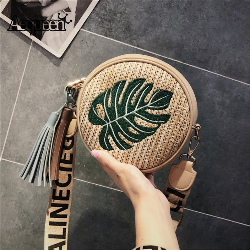 2019 Straw Bags Women Summer Rattan Bag Handmade Woven Beach Cross Body Bag Hot Bohemia Handbag Bali Pineapple Bolsa Feminina Luggage & Bags