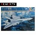 Produtos de impressão! Italeri 0182 1/72 Grumman F-14 A do Tomcat kit modelo de plástico