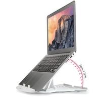 Portable Folding Laptop Stand 11 17 Desk Notebook Adjustable ABS Plastic Laptop Base Holder Cooling Pad for Macbook Air Pro 13