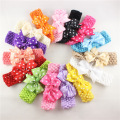 Baby Elastic Hairband Tutu Crochet Bow Headbands baby Girl photography Props Hair Accessories Headband Tutu Top Bandeau Bebe