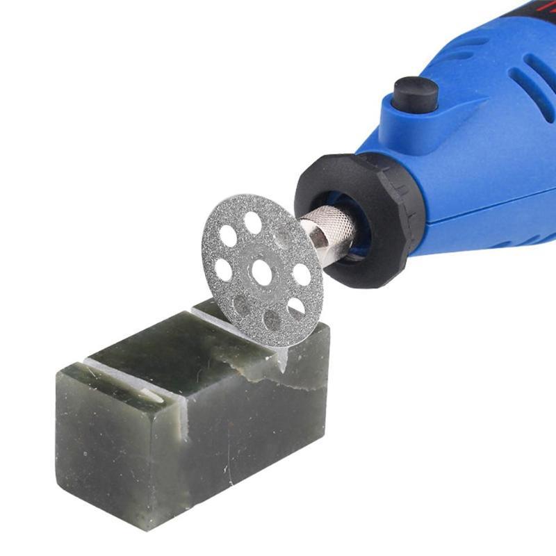 12pcs/set Mini Rotary Tool Multi-functional Circular Saw Blades Diamond Plexiglass Agate Jade Cutting Wheel Discs For Glass Cut