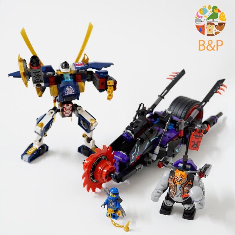 New 06077 663pcs legoing Ninjago Series The Killow vs. Samurai X Building Block Toys For Children Gift compatible 70642