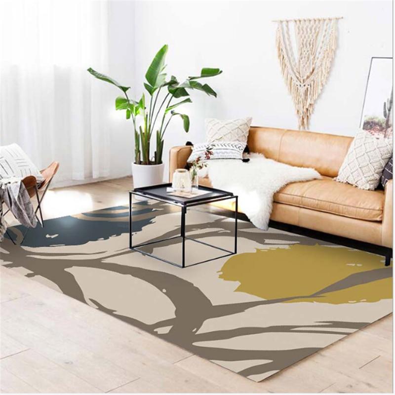 AOVOLL tapis nordiques et tapis pour la maison salon chambre enfant chambre tapis pour le salon moderne salon tapis - 2