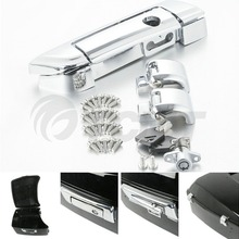Motorcycle Tour Pak Pack Trunk Latches W/ Key For Harley Touring Models 2014-2018 17 цены