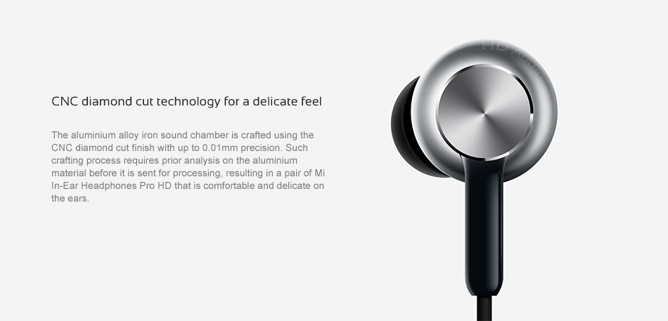 Wired Control Original Xiaomi Mi Headphones Pro HD 13
