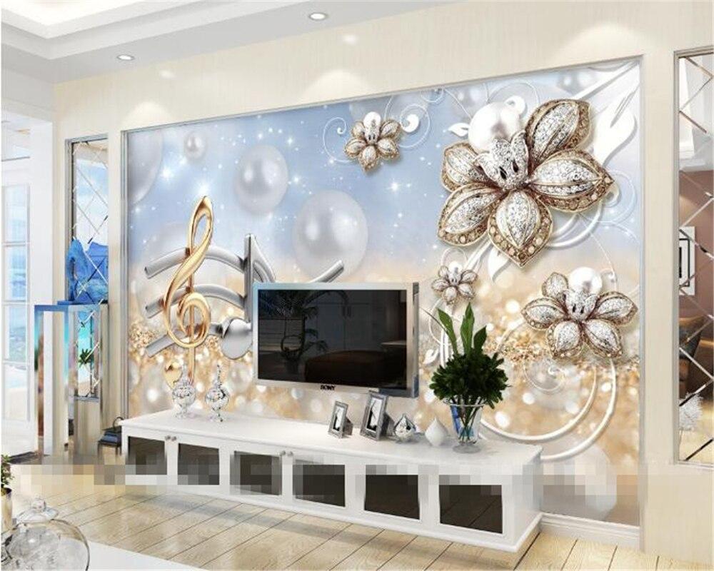 Beibehang 3D Wallpaper murals Home Decorative Mural Living ...