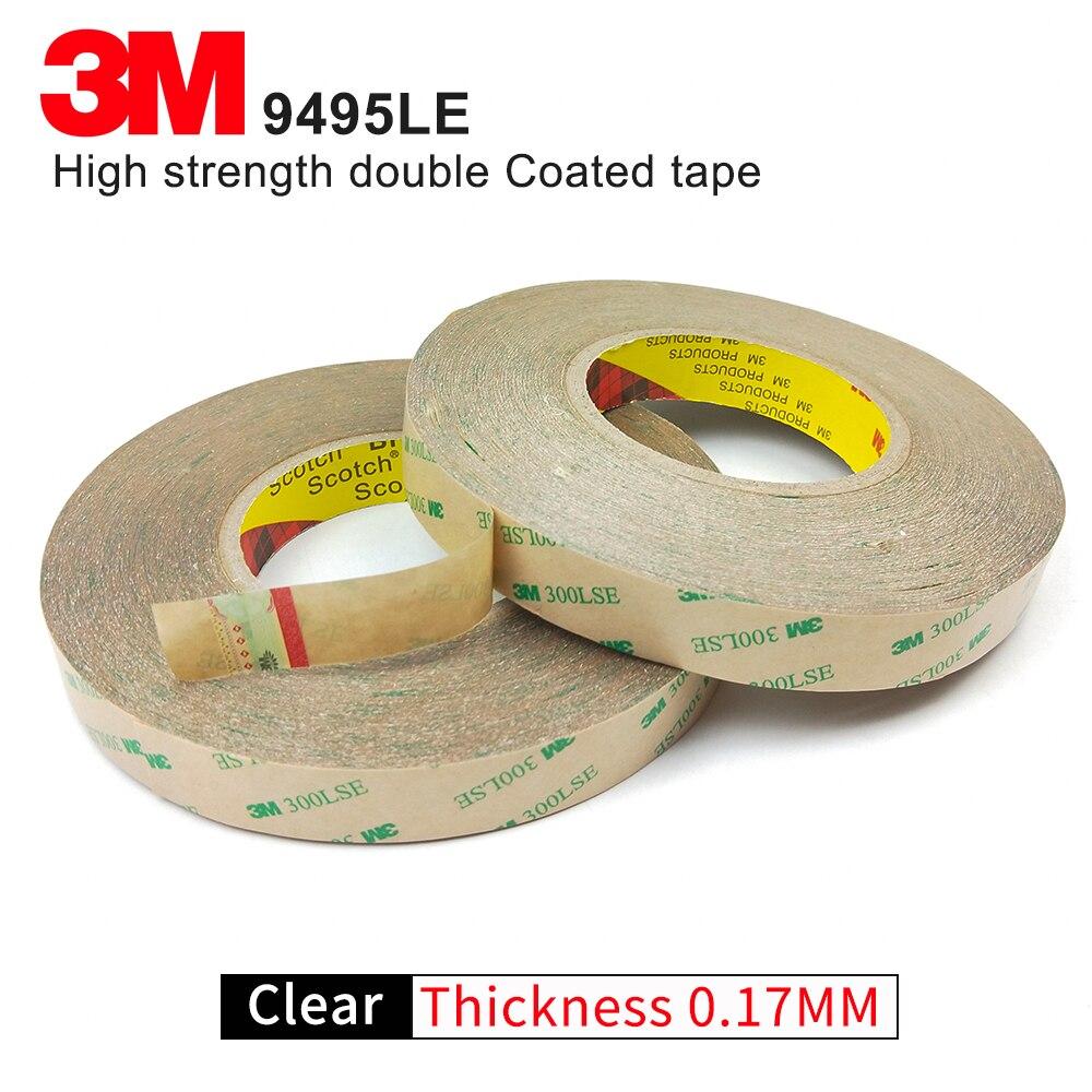 3 м 9495LSE двусторонний клейкая лента для герметизации прозрачной клейкой лентой/10 мм* 55 м/мы можем предложить вам другой размер