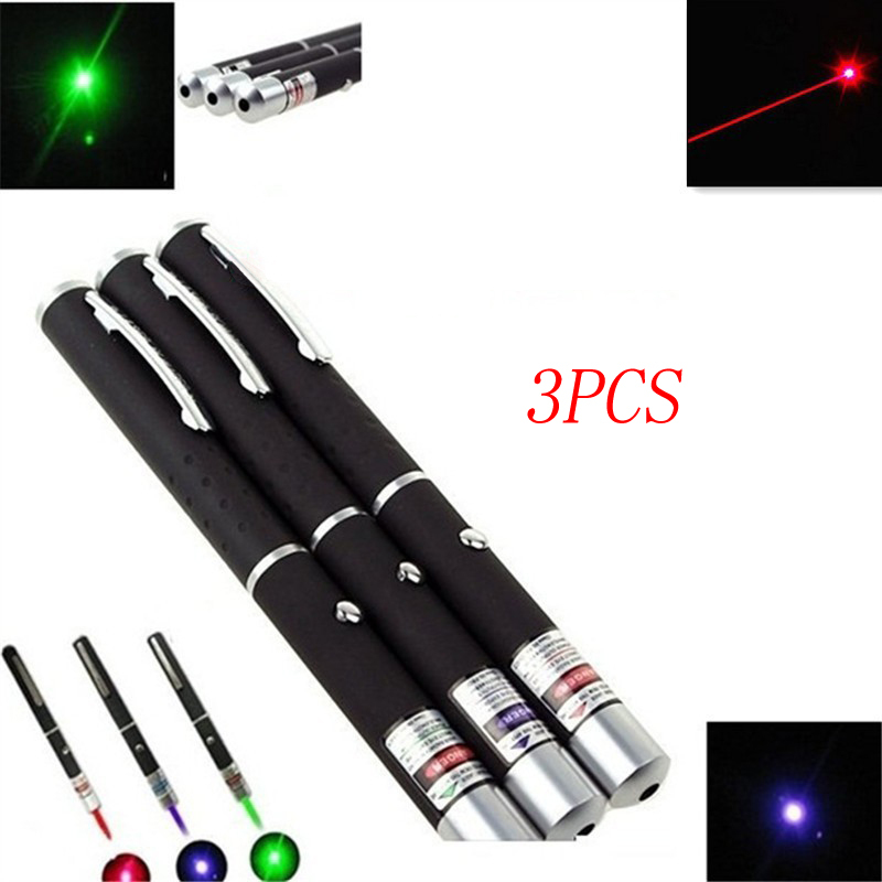 Green /& Blue Beam LED Laser Pointers Pen US Stock 5MW Free Shipping! New Red