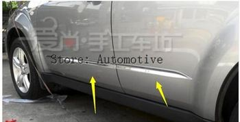 2009 2010 2011 2012 para SUBARU Forester porta frisos laterais corpo lado decoração