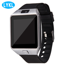 LYKL Wearable Devices DZ09 Smart Watch SIM Card Andriod Smartwatch Smart Electronics Push Message Bluetooth Connectivity Android