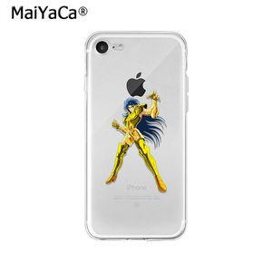 Image 5 - Maiyaca Saint Seiya TPU Mềm Mại Phụ Kiện Điện Thoại Ốp Lưng Điện Thoại Apple iPhone 8 7 6 6S 6S Plus X XS max 5 5S SE XR Di Động Trường Hợp