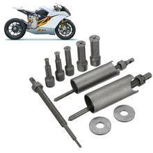 1 компл. Мотоцикл внутренний подшипник съемник инструмент для удаления комплект от 9 мм до 23 мм Диаметр авто двигатель подшипники аксессуары