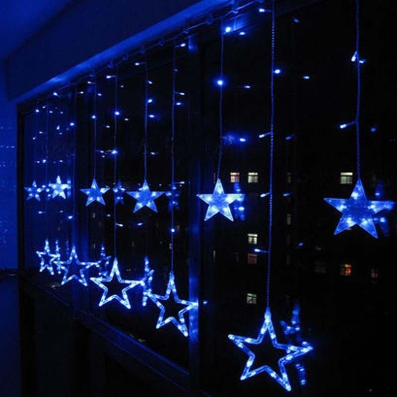 Homebase Led String Lights : Star Curtain Lights Uk Curtain Menzilperde.Net