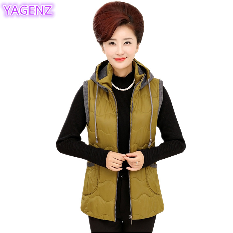 YAGENZ Plus size Jacke Damen Weste Wintermantel Damen Tops Mutter - Damenbekleidung - Foto 1