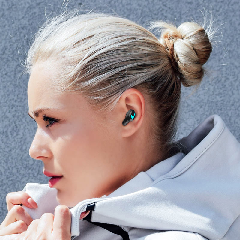 M&J TWS 5.0 Bluetooth Earphone With 3D Stereo IPX5 Waterproof And Power Bank 15