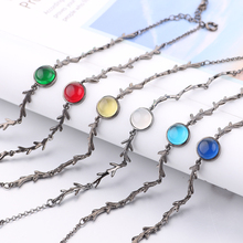 Boho Moonstone Charm Friendship Bracelet
