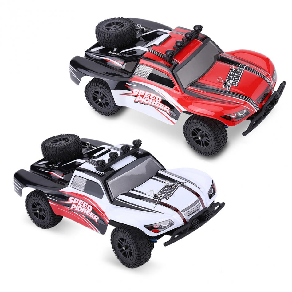 930 2.4GHz 1/18 Remote Control Four-Wheel Drive Car RC Model Vehicle Toy High Speed Remote Control RC Car 1 12 high speed car ratio control 2 4 ghz all wheel drive model 4x4 driving car assebled buggy vehicle toy