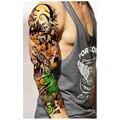 3 unids Sleeve Body Art Tatuajes Temporales A Prueba de agua Hombres Mujeres Colorido Falso Papel de Tatuaje Etiqueta Engomada Del Tatuaje Del Brazo Medias Productos Del Sexo