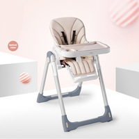 High end children's multi function portable folding baby eating seat BB dining table chair baby dining chair