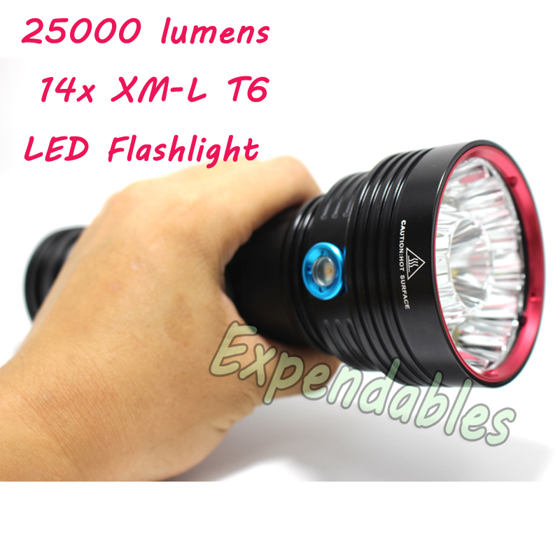 SkyRay SKY RAY KING Sy-007 14T6 14x Cree XM-L T6 25000 Lumens 3-Mode LED Flashlight Torch Lamp big power saif hameed regulation of multidrug resistance in human pathogen candida albicans