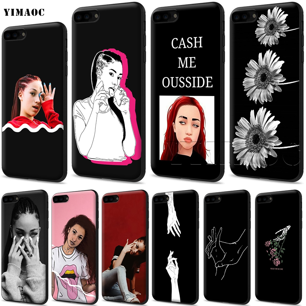 YIMAOC Bhad Bhabie Soft Silicone Case For IPhone 11 Pro XS Max XR X 8 7 6 6S Plus 5 5s Se