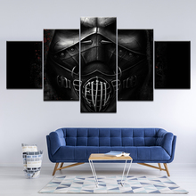 Canvas Painting Dark cool warrior artwork 5 Pieces Wall Art Painting Modular Wallpapers Poster Print for living room Home Decor jaycosin women jackets coats autumn winter fashion slim long sleeve leather coat short jacket with pockets casual outwear 1011