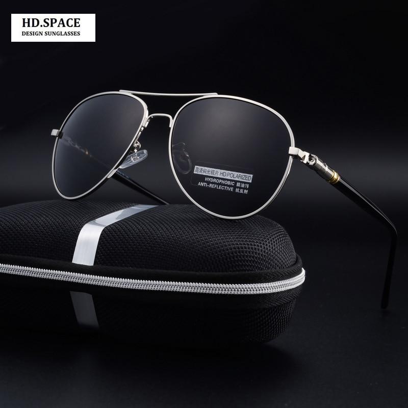 21e813ae48 HD.space men sunglasses aluminum magnesium polarized sunglasses HD driving  glasses lunette de soleil homme sun glasses for men