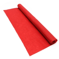 16ft Disposable Red Carpet Celebrity Floor Runner Red Carpet Party Wedding Disposable Scene Decoration Decorative Cloth