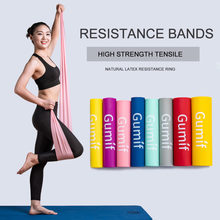 Resistance Bands Gym Fitness Equipment Strength Training Latex Elastic Workout Crossfit Yoga Rubber Sport Pilates Yoga Belts(China)