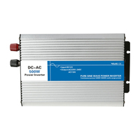 500w pure sine wave inverter DC 12V/24V/48V to AC 110V/220V tronic power inverter circuits off grid tie cheap 12 24 48 V