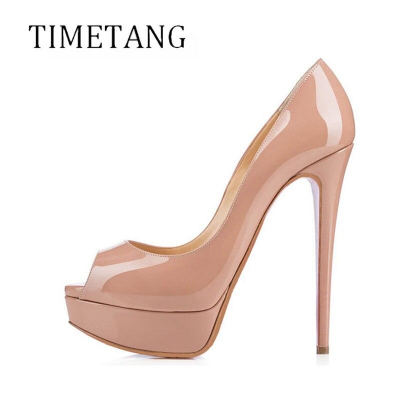 2017 Time-limited Real Basic Zapatos Mujer Tacon Sexy14.5cm Bottom Shoes Thin High Heels Women Platform Pumps Nightclub Ur9912 1toy mookie веселый теннис набор регулируемая по высоте стойка до 170см мяч 2 ракетки 135987