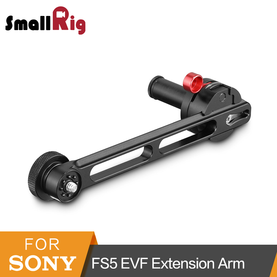 SmallRig EVF Extension Arm for Sony FS5 and Panasonic EVA1 To Mount DSLR Camera Monitor Lcd -2200 sports camera gopro selfie extension stick 17 inch adjustable cnc aluminum extension magic arm mount kit for dslr lcd monitor
