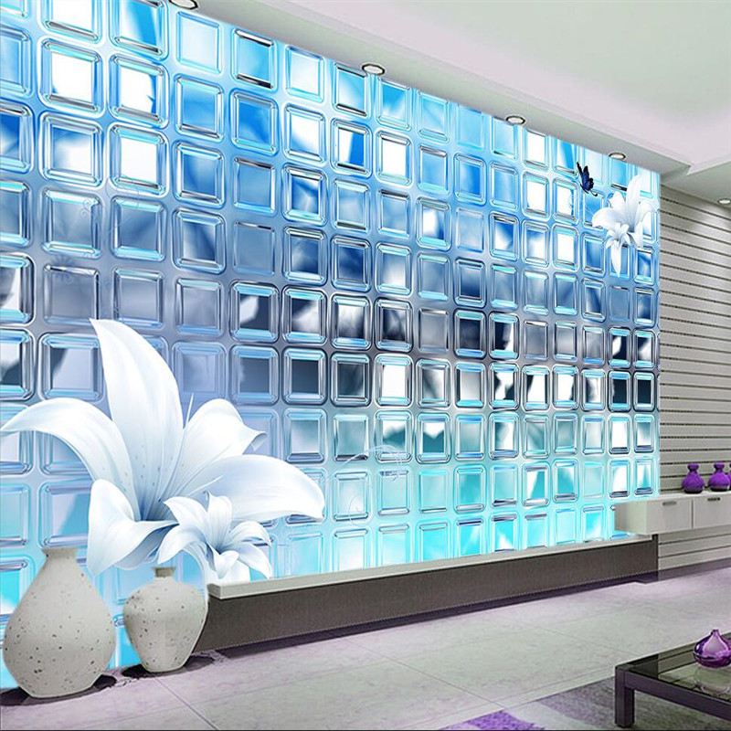 3d wallpaper mural art decor picture backdrop Modern living room hotel restaurant silver mosaic squares painting mural panel book knowledge power channel creative 3d large mural wallpaper 3d bedroom living room tv backdrop painting wallpaper