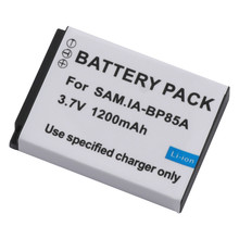BP-85A BP85A 85A Battery Charger for SAMSUNG ST200F, PL210, WB210, and SH100 Cameras.