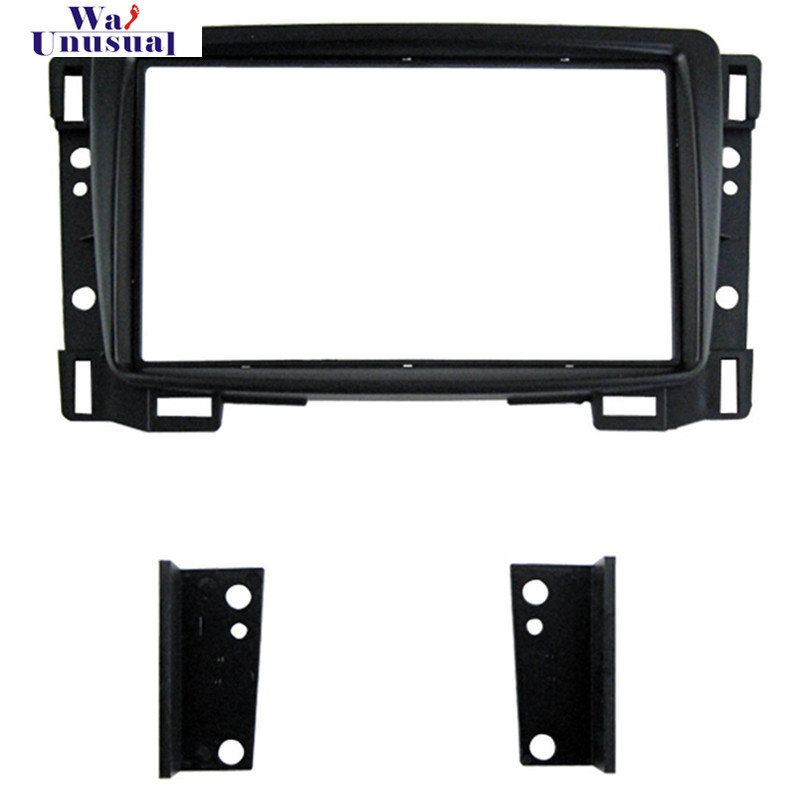 CH 002 Top Quality Radio Fascia for CHEVROLET SAIL 2011 Stereo Interface Dash CD Trim Installation Kit Free Shipping