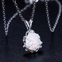 2020 جديد الحب الله كيوبيد زوجين أوبال قلادة بالجملة مجوهرات الأزياء 100% 925 الفضة كريستال من سواروفسكي النساء