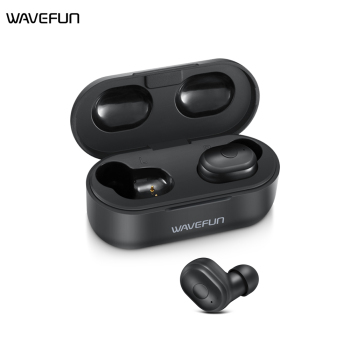 Wavefun X-Pods 2 Wireless TWS Earbuds Bluetooth V5.0 Earphone Headset Bass Stereo Sound Sport Earphone for samsung iPhone xiaomi