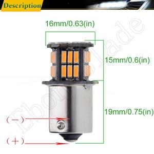 Image 3 - 10 X Car LED BAU15S 1156PY RY10W PY21W 7507 1156 BA15S P21W Amber Orange Yellow DRL Turn Signal Light Bulb Lamp 12V Auto Styling
