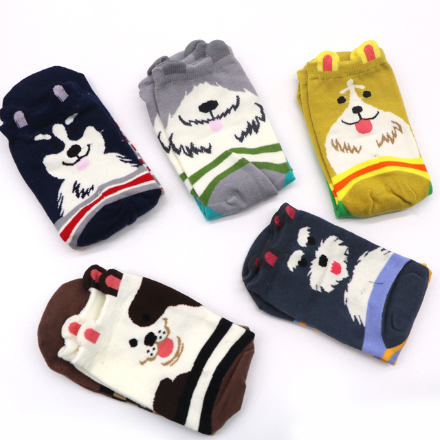 1 Pair Cotton Women Sock 4