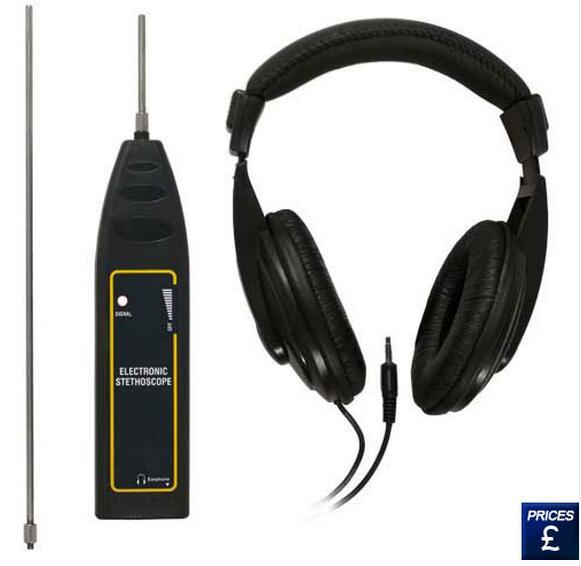 Цена за Автомобильные Шум Finder электронный стетоскоп двигателя машины диагностировать 2 зонд 100 Гц ~ 10 кГц тележки автомобиля автомобильные Шум Сенсор