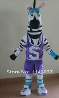 mascot Zebra Mascot Zebra Athlete Sportsman Player Mascot Costume Adult Animal Cartoon Character Outfit Carnival Costume