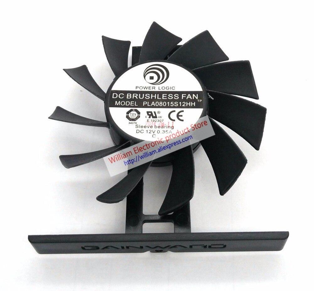 Nouvelle D'origine pour Gainward Palit GeForce GTX 770 780ti carte Graphique ventilateur de refroidissement PLA08015S12H DC12V 0.35A diamètre 75 MM